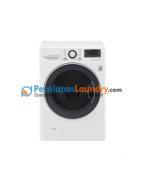 mesin cuci LG front loading 14 Kg