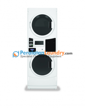 mesin cuci tumpuk model card dengan sistem yang lebih canggih daripada sistem coin