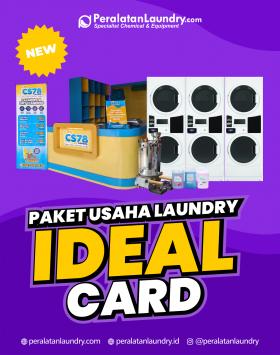 modal awal bisnis laundry sistem card terlengkap dan termurah