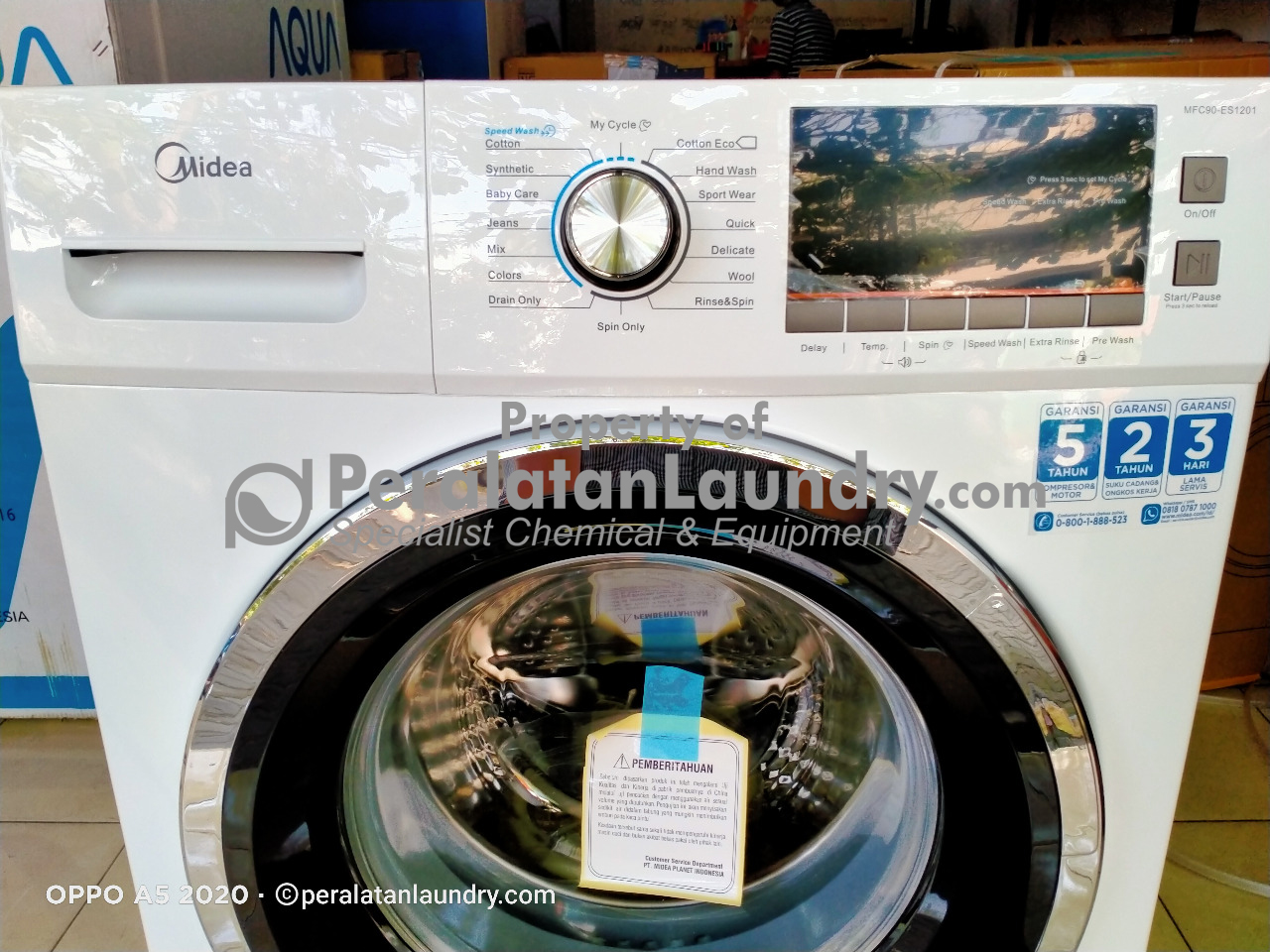 mesin cuci laundry midea