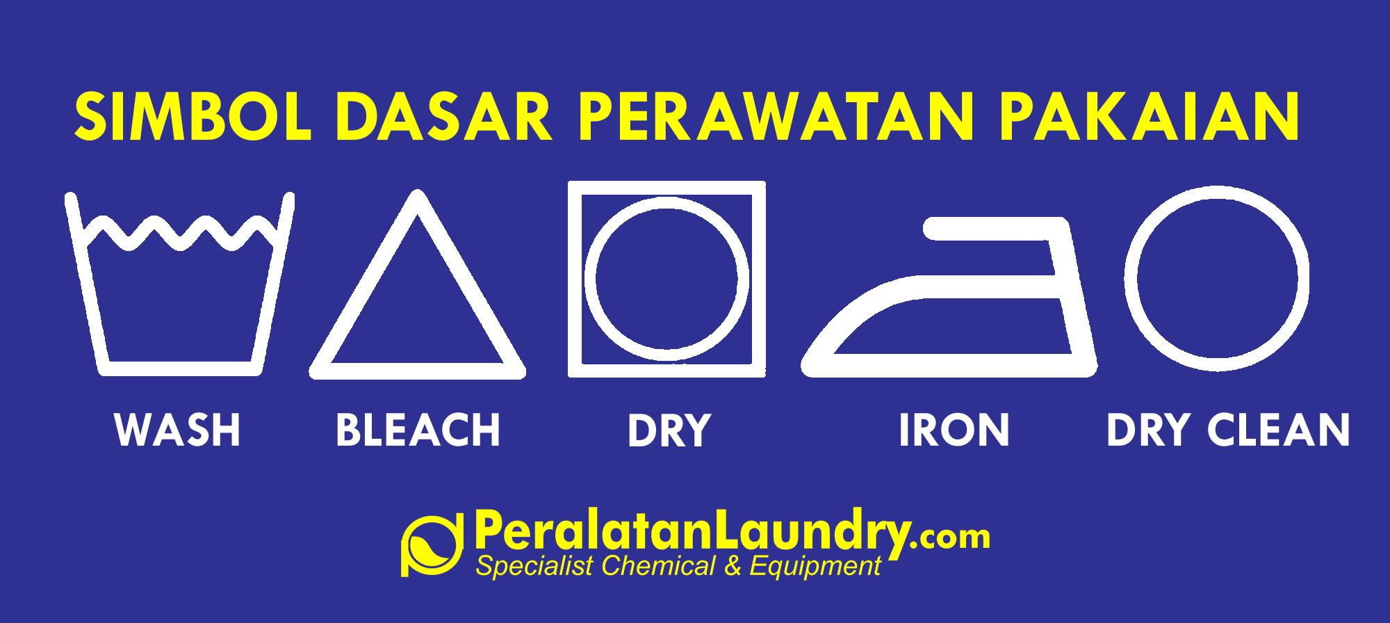 simbol pakaian