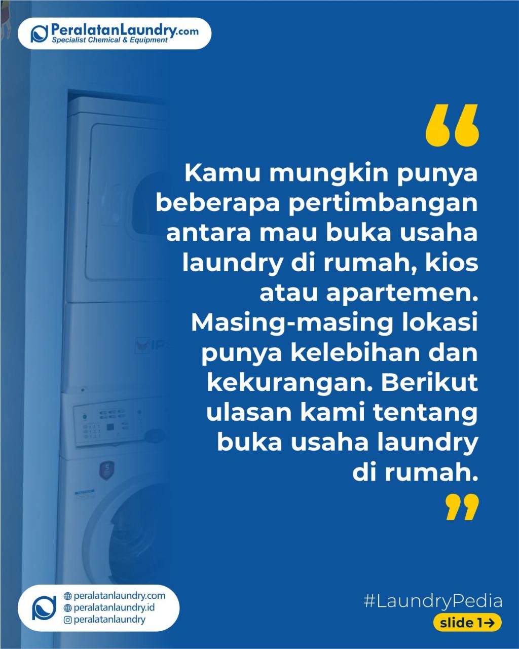 tips membuka usaha laundry di rumah