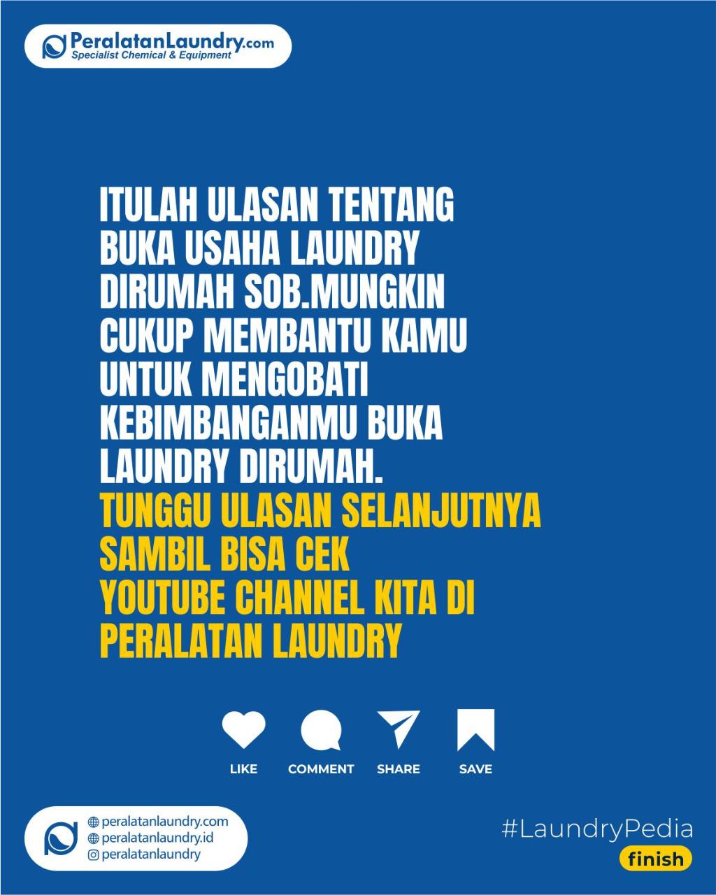 buka usaha laundry di rumah