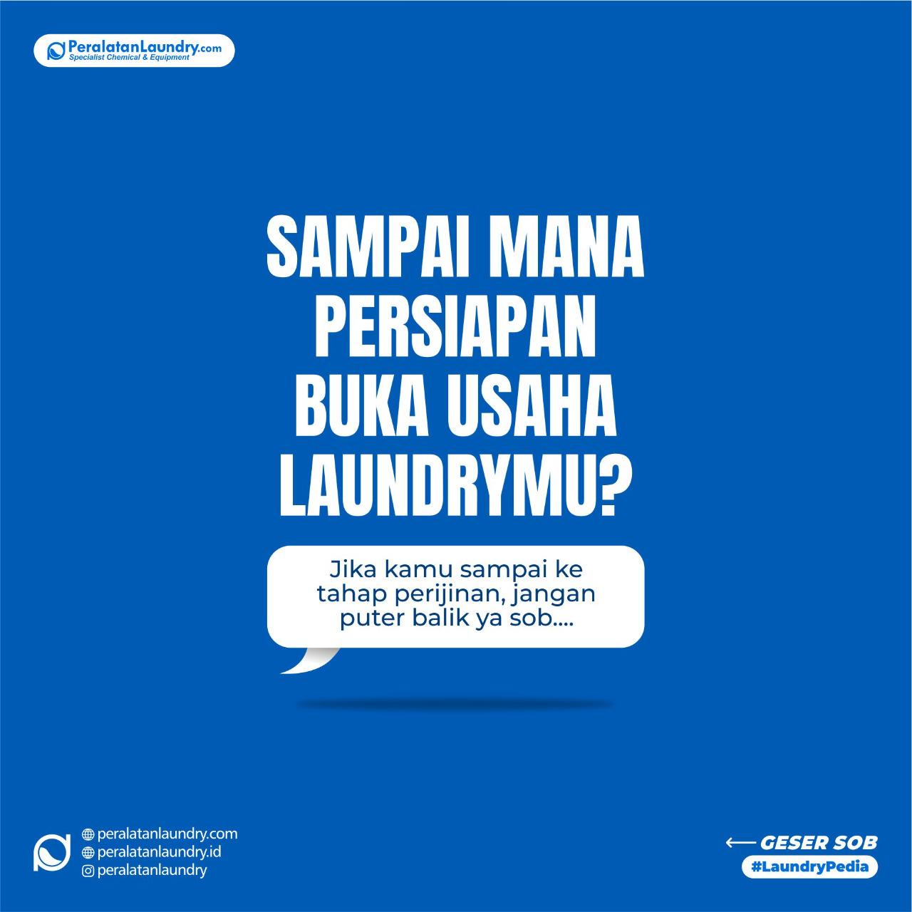 mengurus izin usaha laundry ga ribet