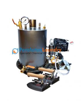 setrika uap boiler otomatis